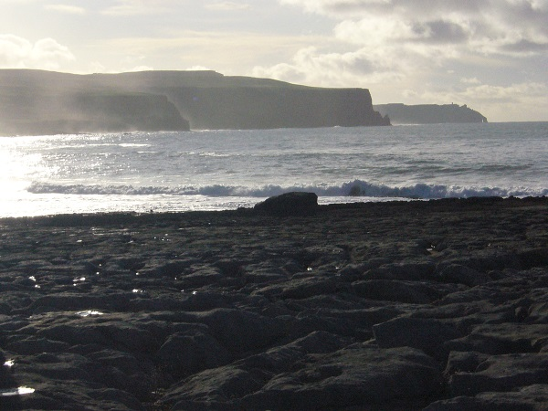 Cliffs of moher view from Doolin